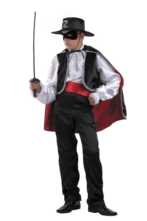 Карнавальный костюм для мальчика своими руками зорро