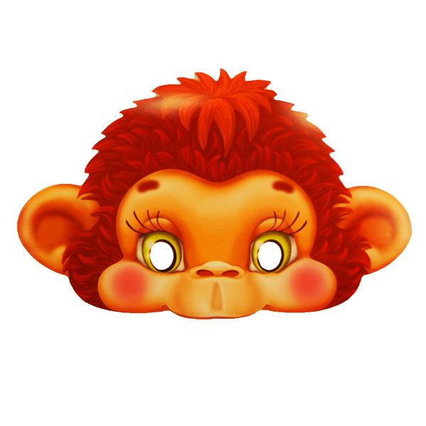 Новогодняя маска обезьяны своими руками на конкурс